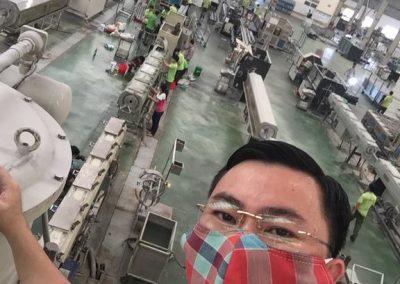 Nhựa tiền phong khởi động Lean TPM máy mẫu (11)